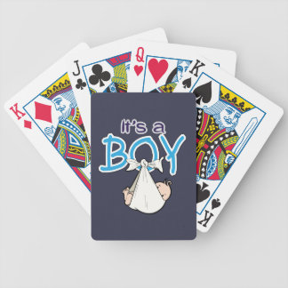 It, s. a. Boy! Bicycle Playing Cards