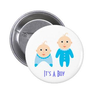It s A Boy Newborn Baby Boy Button