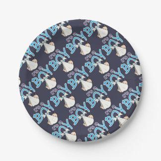 It, s. a. Boy! Paper Plate