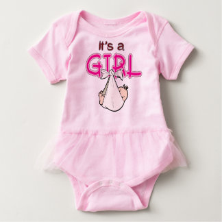 It s. a. Girl Baby Bodysuit