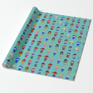 It s. a. small world wrapping paper