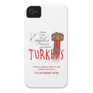 It s Hard To Soar With Eagles Customizable Blackberry Bold Cases