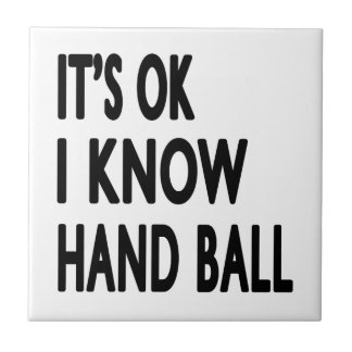 It s OK I Know Hand Ball Dance Tiles
