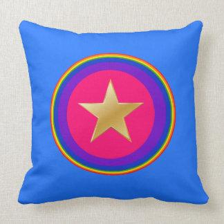 It sees hero throw pillow