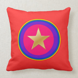 It sees hero throw pillow