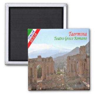 IT - Sicily - Taormina - Greek-Roman Theatre Magnet