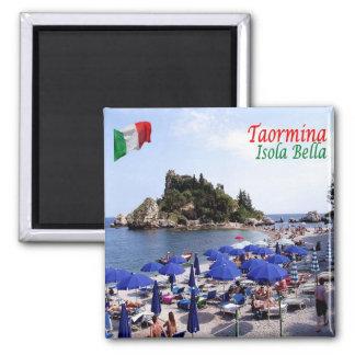 IT - Sicily - Taormina - Isola Bella Magnet