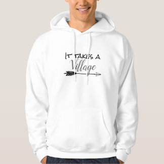 It Takes a Village - Adopt Foster Hoodie
