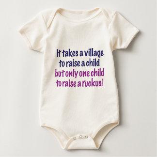 It takes a village… baby bodysuit