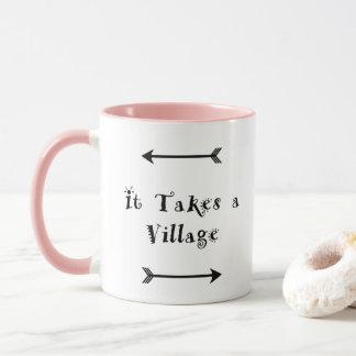It takes a Village - Parenting Adoption Mug