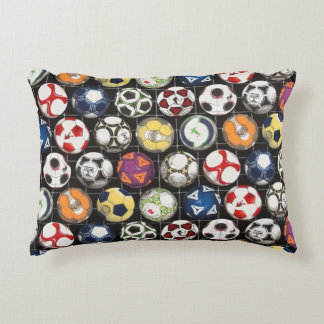 It Takes Balls to Play Soccer Decorative Pillow