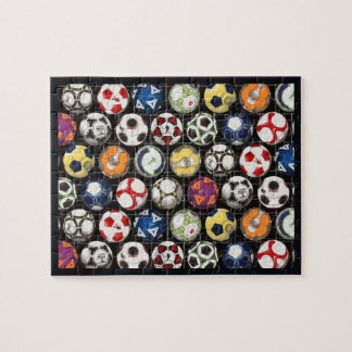 It Takes Balls to Play Soccer Jigsaw Puzzle