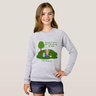 It takes care of the nature sweatshirt