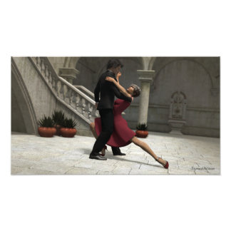 It Takes Two to Tango Photo Print