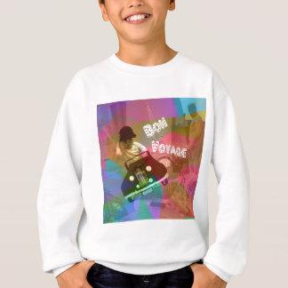 It too easy travel over the world. sweatshirt