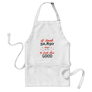 It took 90 years to look this good standard apron