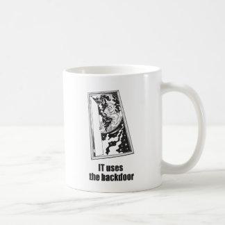 IT Uses the Backdoor Coffee Mug