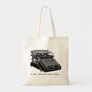 It was a Dark and Stormy Night Budget Tote Bag