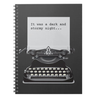 It was a Dark and Stormy Night Notebook