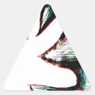 It was a War not a Riot Triangle Sticker