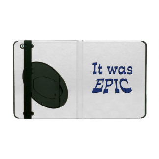 It Was Epic iPad Covers