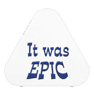 It Was Epic Blueooth Speaker