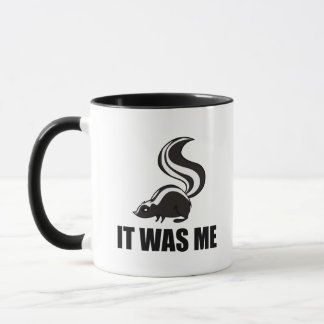 It Was Me Skunk Mug