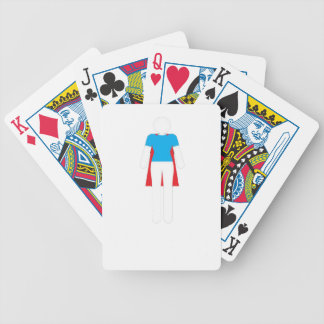 It Was Never A Dress - Wonder Super Girl Woman Bicycle Playing Cards
