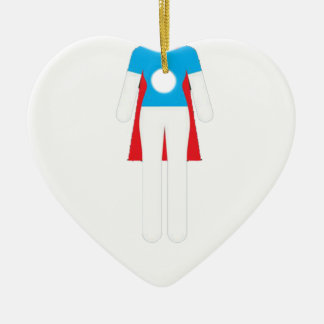It Was Never A Dress - Wonder Super Girl Woman Ceramic Ornament