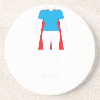 It Was Never A Dress - Wonder Super Girl Woman Coaster