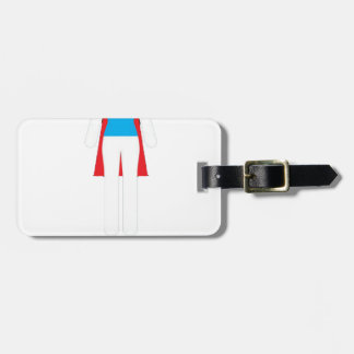 It Was Never A Dress - Wonder Super Girl Woman Luggage Tag