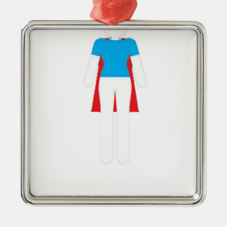 It Was Never A Dress - Wonder Super Girl Woman Metal Ornament