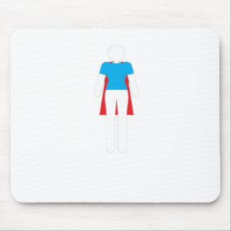 It Was Never A Dress - Wonder Super Girl Woman Mouse Pad