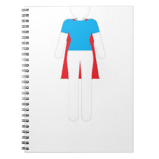 It Was Never A Dress - Wonder Super Girl Woman Notebooks