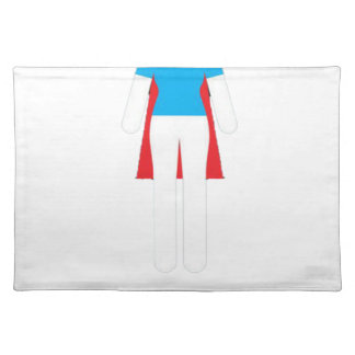 It Was Never A Dress - Wonder Super Girl Woman Placemat