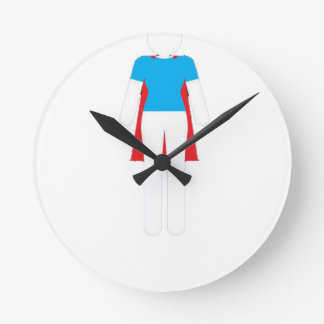 It Was Never A Dress - Wonder Super Girl Woman Round Clock