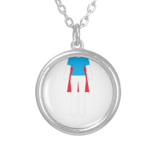 It Was Never A Dress - Wonder Super Girl Woman Silver Plated Necklace