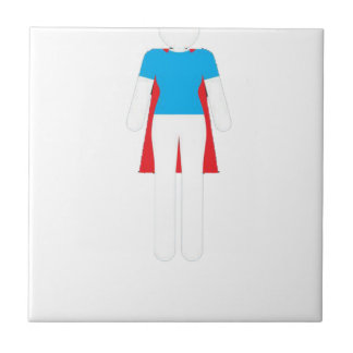 It Was Never A Dress - Wonder Super Girl Woman Tile