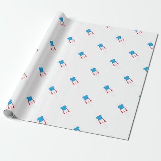 It Was Never A Dress - Wonder Super Girl Woman Wrapping Paper