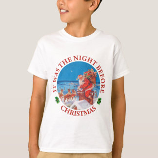 It Was The Night Before Christmas T-Shirt