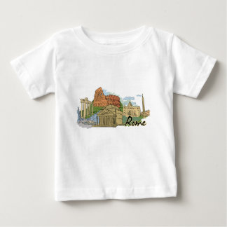 It Wasn't Built In A Day (Rome) Baby T-Shirt