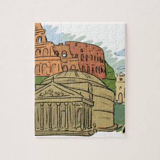 It Wasn't Built In A Day (Rome) Jigsaw Puzzle