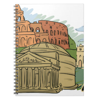 It Wasn't Built In A Day (Rome) Notebook