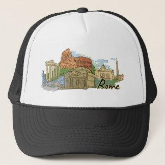 It Wasn't Built In A Day (Rome) Trucker Hat