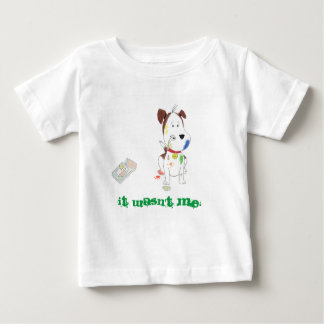 """It wasn't me!"" toddler shirt"