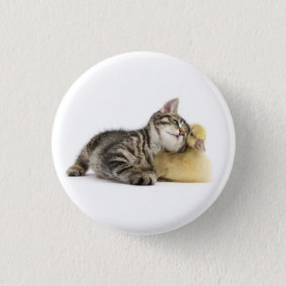 It will follow you everywhere. 1 inch round button
