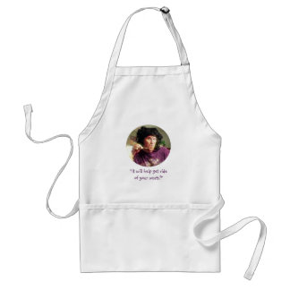 """It Will Help Get Rid of Your Warts!"" Standard Apron"
