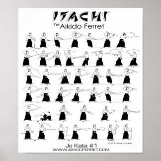 Itachi Jo Kata #1 Poster
