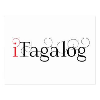 ITAGALOG POSTCARD