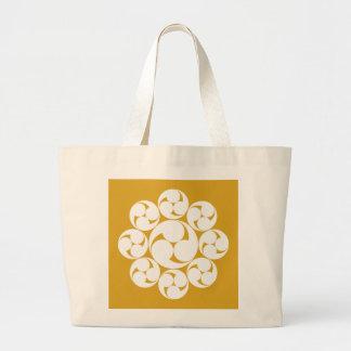 Itakura swirl (Jinuki) Large Tote Bag